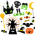 halloween · boom · teken · illustratie - stockfoto © lordalea