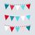 tél · háromszög · minta · kék · végtelenített · csempe - stock fotó © lordalea