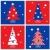 retro · christmas · collectie · iconen · ingesteld · retro-stijl - stockfoto © lordalea