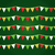 colorful christmas flags or bunting set stock photo © lordalea