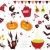 halloween vector icons set iii stock photo © lordalea