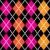 retro colorful argile pattern   orange and pink on black backgro stock photo © lordalea