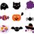 halloween · zwarte · pompoen · heks · spook - stockfoto © lordalea