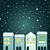 vektör · şehir · örnek · basit · stil · evler - stok fotoğraf © lordalea