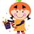 hile · halloween · örnek · genç · karakter - stok fotoğraf © lordalea