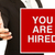 you are hired stock photo © lorenzodelacosta