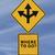 tenedor · flechas · senalización · de · la · carretera · azul · verde · 3d - foto stock © lorenzodelacosta