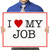 I Love My Job!  stock photo © lorenzodelacosta