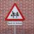 пешеход · детей · дорожный · знак · Нидерланды · школы · ребенка - Сток-фото © lorenzodelacosta