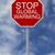 stop · segno · il · cambiamento · climatico · ambiente · 3D - foto d'archivio © lorenzodelacosta