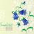 cartão · abstrato · flores · mão · sino · projeto - foto stock © lossik