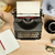 vintage typewriter with work stuff overhead stock photo © lostation