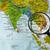 harita · Kamboçya · iş · dünya · cam - stok fotoğraf © lostation