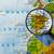 harita · İspanya · iş · dünya · cam - stok fotoğraf © lostation