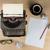 vintage · maszyny · do · pisania · pracy · biuro · papieru · tle - zdjęcia stock © lostation