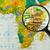 harita · cumhuriyet · Kenya · şehir · dünya · cam - stok fotoğraf © lostation