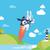 startup · negócio · tecnologia · inovação · voador · foguete - foto stock © Loud-Mango