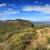 azul · montanhas · Austrália · último · luz · solar · árvores - foto stock © lovleah
