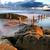 piękna · pejzaż · morski · rano · świetle · skał - zdjęcia stock © lovleah
