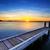 après-midi · calme · lac · vue · lumière · eau - photo stock © lovleah