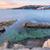 ビーチ · シドニー · 日の出 · 海景 · 岩 · 長時間暴露 - ストックフォト © lovleah