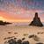 graniet · piramide · klein · rock · blokken · steen - stockfoto © lovleah