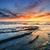 sunrise · piantagione · punto · spettacolare · ardente · fine - foto d'archivio © lovleah