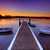 pittoreske · meer · plezier · boten · strand · hemel - stockfoto © lovleah