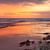 sunrise south entrance beach stock photo © lovleah