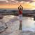 matin · yoga · méditation · plage · sport - photo stock © lovleah