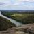cênico · azul · montanhas · Austrália · rocha · floresta - foto stock © lovleah