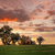 portico · tramonto · spiaggia · viaggio · silhouette · colore - foto d'archivio © lovleah