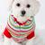 winter puppy dog wearing striped jumper stock photo © lovleah
