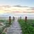 path that refreshes the soul beach sunrise australia stock photo © lovleah