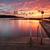 zonsopgang · lang · Australië · zon · horizon - stockfoto © lovleah