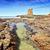 大聖堂 · 岩 · 火山岩 · 湖 · ニュージーランド - ストックフォト © lovleah