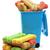 psa · kości · otwarte · niebieski · śmieci - zdjęcia stock © luapvision