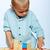 boy playing with blocks stock photo © lubavnel