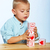 boy playing with alphabet blocks stock photo © lubavnel
