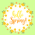 tavasz · klasszikus · virág · kör · kártya · szín - stock fotó © lucia_fox