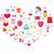 ontwerp · valentijnsdag · liefde · romantiek · iconen · briefkaart - stockfoto © lucia_fox