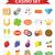 jogos · de · azar · vetor · estilo · ilustração · fichas · dados - foto stock © lucia_fox