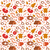 meat products seamless pattern flat style meats and sausage endless background texture vector il stock photo © lucia_fox