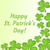 st patricks day greeting card invitation poster flyer template for your design with clover sh stock photo © lucia_fox