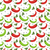 chili peppers seamless pattern pepper red and green endless background texture vegetable vector stock photo © lucia_fox