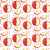 naadloos · vector · patroon · appels · Rood · groene - stockfoto © lucia_fox
