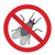 red sign ban fly stop sign of an insect vector illustration stock photo © lucia_fox