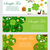 st patricks day banner template for your design horizontal border set vector illustration stock photo © lucia_fox
