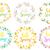 ハロー · 春 · 文字 · テンプレート · 実例 · 花 - ストックフォト © lucia_fox