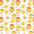 cartoon · cute · miele · colorato - foto d'archivio © lucia_fox